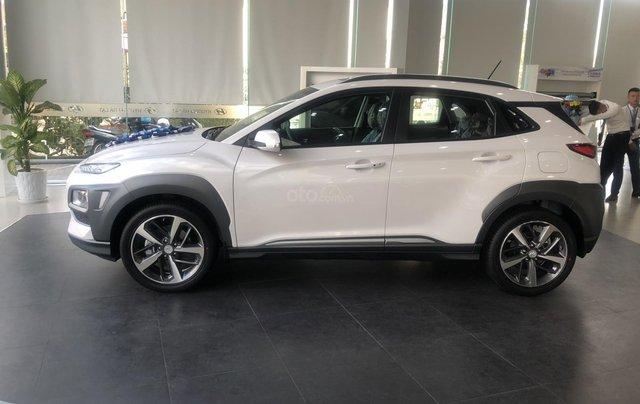 Bán Hyundai Kona sản xuất năm 2019, màu trắng, giá 641tr1