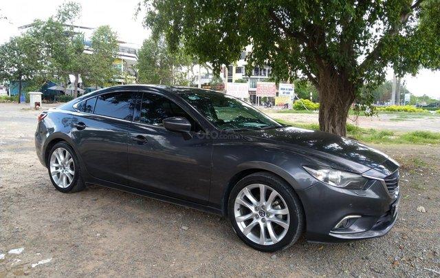 Bán xe Mazda 6 2.5 sản xuất 2014, màu xám (ghi), 710 triệu (nội thất xài kỹ rất mới)1