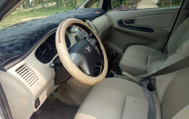 Cần bán lại xe Toyota Innova G 2.0 đời 2014, màu bạc số sàn, giá 465tr5