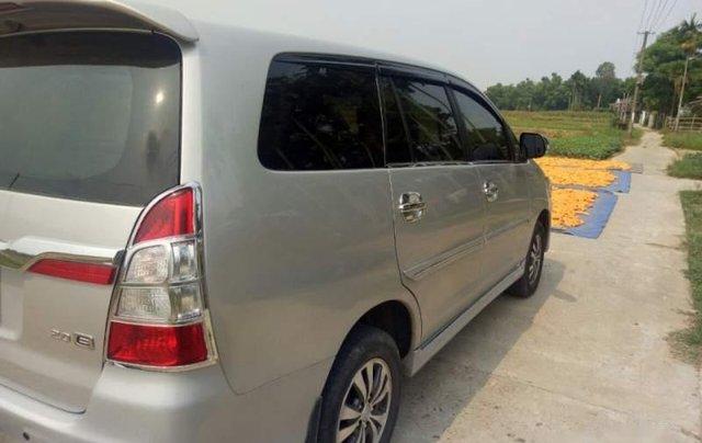 Cần bán lại xe Toyota Innova G 2.0 đời 2014, màu bạc số sàn, giá 465tr4