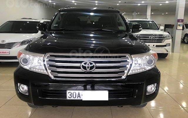 Bán ô tô Toyota Land Cruiser VX 2014, màu đen, đăng ký một chủ từ đầu0