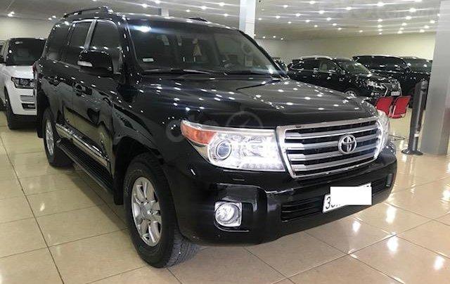 Bán ô tô Toyota Land Cruiser VX 2014, màu đen, đăng ký một chủ từ đầu2