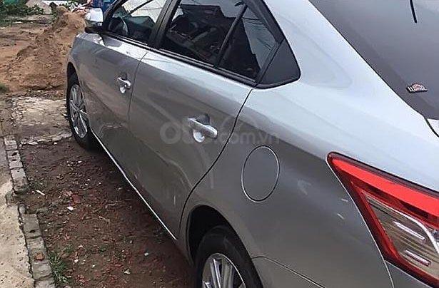 Bán xe Toyota Vios đời 2017, màu bạc số tự động giá cạnh tranh1
