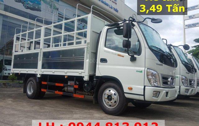 Bán xe 3,5 tấn - Thaco Ollin 350 E4, đời 2018, Trả góp 75%, chỉ cần trả trước 130 triệu, liên hệ 0944 813 9121