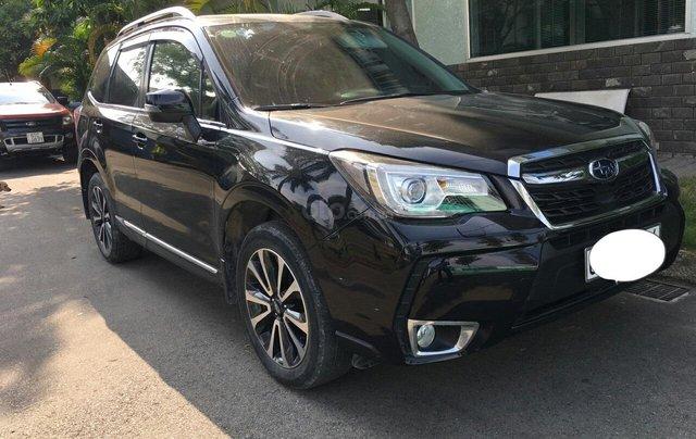 Bán xe Subaru Forester 2.0XT SX 2016, màu đen, đăng ký 4/20160