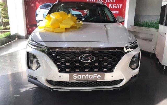 Bán Hyundai Santa Fe 2019, full các bản từ 1 tỷ, giao xe ngay, đủ màu, tặng gói phụ kiện hấp dẫn không giới hạn1