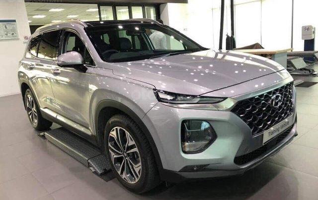 Bán Hyundai Santa Fe 2019, full các bản từ 1 tỷ, giao xe ngay, đủ màu, tặng gói phụ kiện hấp dẫn không giới hạn0