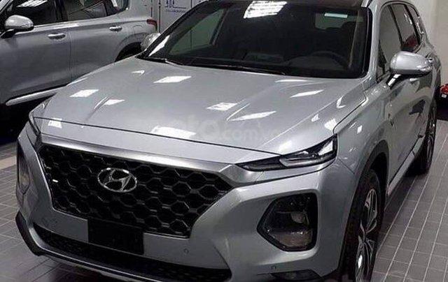 Bán Hyundai Santa Fe 2019, full các bản từ 1 tỷ, giao xe ngay, đủ màu, tặng gói phụ kiện hấp dẫn không giới hạn2