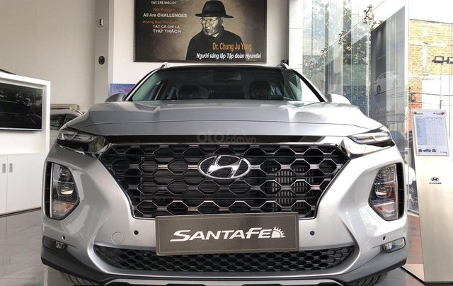 Bán Hyundai Santa Fe 2019, full các bản từ 1 tỷ, giao xe ngay, đủ màu, tặng gói phụ kiện hấp dẫn không giới hạn3