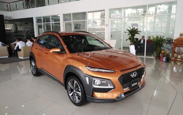 Hyundai Kona Turbo 2019 - sẵn xe đủ màu giao ngay, giá tốt nhấ thị trường, tặng phụ kiện hấp dẫn, LH Mr Ân 09394932590