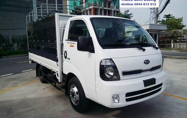 Động cơ Hyundai trên xe tải KIA K250, tải trọng 2,5 tấn, lưu thông thành phố. Xe tại Bình Dương. LH: 0944 813 9121