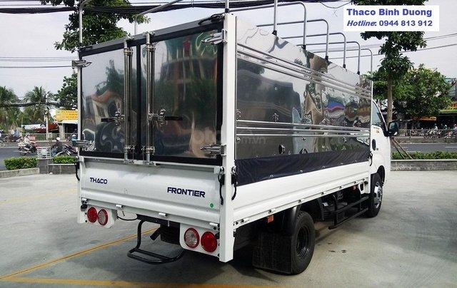 Động cơ Hyundai trên xe tải KIA K250, tải trọng 2,5 tấn, lưu thông thành phố. Xe tại Bình Dương. LH: 0944 813 9122