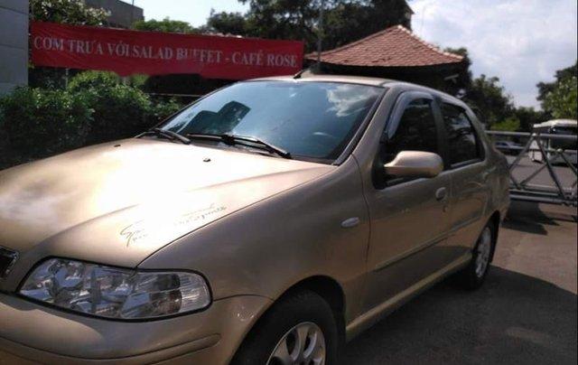 Bán xe Fiat Albea HLX 1.6 MT 2007, màu vàng, xe nhập xe gia đình0