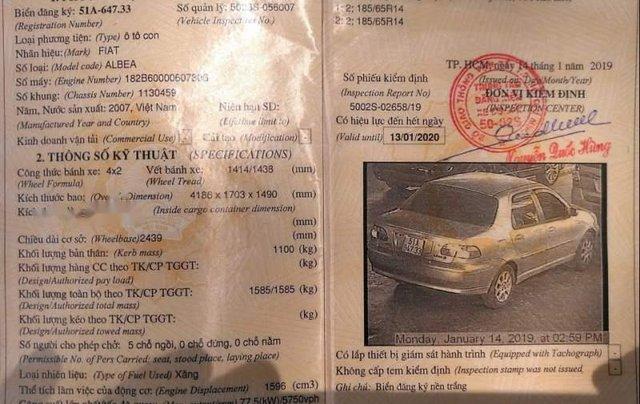 Bán xe Fiat Albea HLX 1.6 MT 2007, màu vàng, xe nhập xe gia đình5