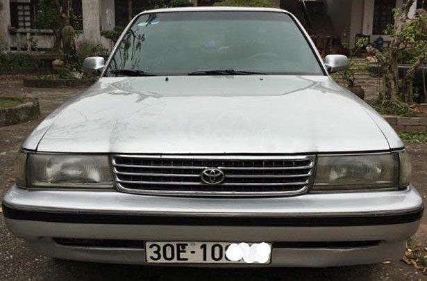 Bán Toyota Cressida 2.4 đời 1990, màu bạc, nhập khẩu, giá tốt3