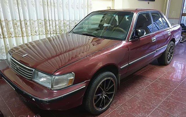 Cần bán gấp Toyota Cressida 1993, màu đỏ, nhập khẩu nguyên chiếc0