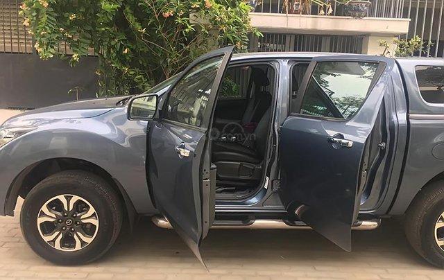 Bán xe Mazda BT 50 2.2L 4x2 AT 2017, màu xanh lam, nhập khẩu nguyên chiếc  2