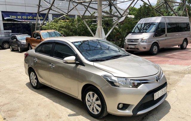 Bán Vios MT 2017 xe bán tại hãng Ford An Lạc có bảo hành1