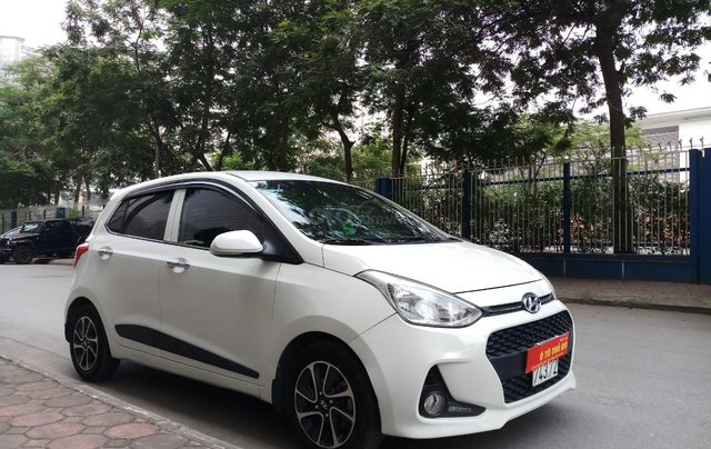 Ô Tô Thủ Đô bán xe Hyundai I10 1.0 MT bản đủ sx 2017, màu trắng, 325 triệu3