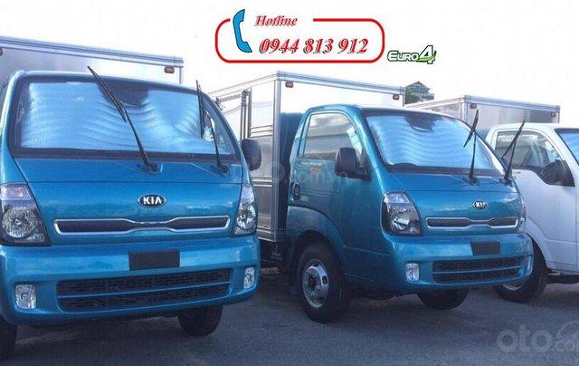 Xe tải 2 tấn, động cơ Hyundai, thùng kín - Thaco Kia K200 - Giao xe ngay tại Bình Dương - LH: 0944 813 9124