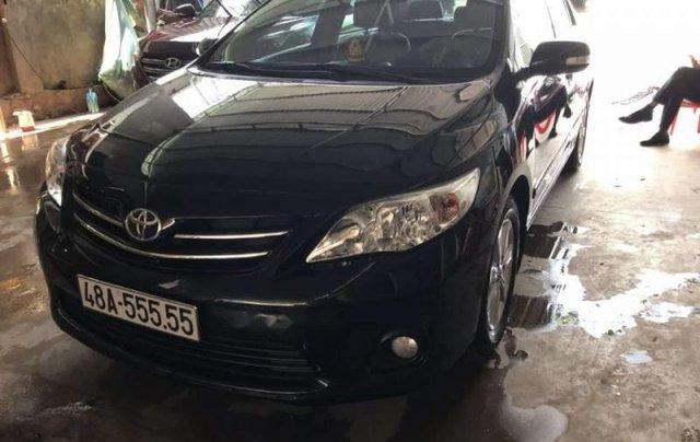 Cần bán gấp Toyota Corolla altis 2011, màu đen, nhập khẩu nguyên chiếc chính chủ0