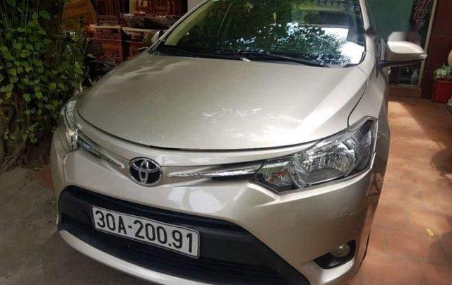 Cần bán lại xe Toyota Vios E MT 2015 giá cạnh tranh3