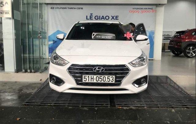 Bán xe Hyundai Accent sản xuất năm 2019, màu trắng0