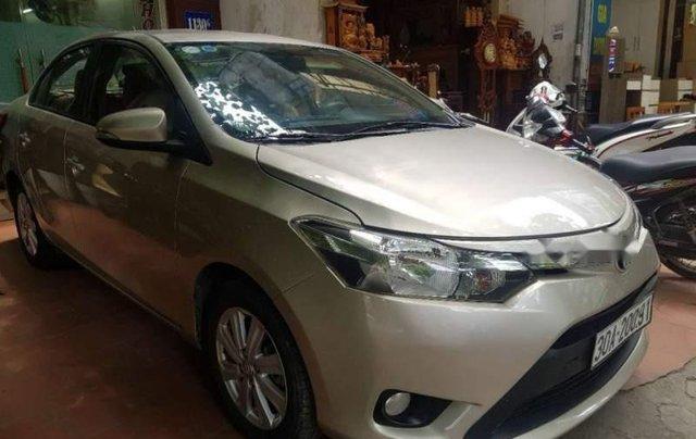 Cần bán lại xe Toyota Vios E MT 2015 giá cạnh tranh0