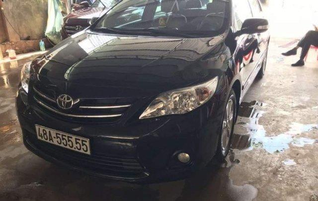Cần bán gấp Toyota Corolla altis 2011, màu đen, nhập khẩu nguyên chiếc chính chủ2
