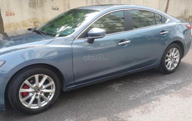 Bán Mazda 6 2015, màu xanh lam0