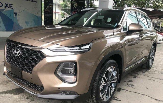 Hyundai Santa Fe 2019, full các bản từ 1 tỷ, giao xe ngay, đủ màu, tặng gói phụ kiện hấp dẫn không giới hạn1