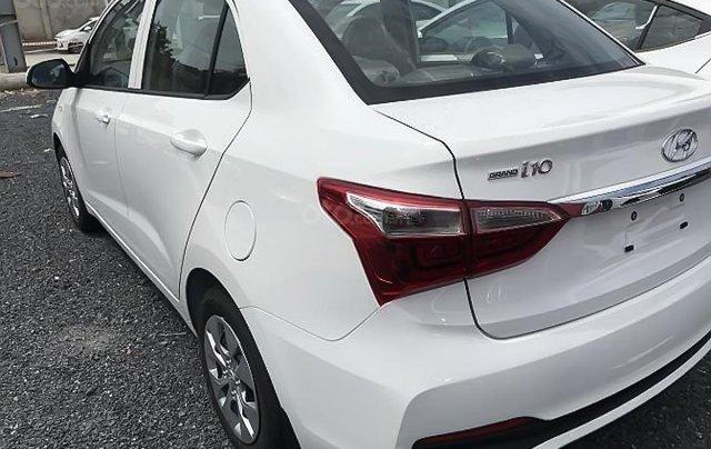 Cần bán Hyundai Grand i10 Base 1.2 năm sản xuất 2019, màu trắng0
