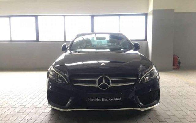 Mercedes-Benz Bình Dương bán Mercedes C300 AMG đời 2018, nhập khẩu, đăng ký 13/07/20181