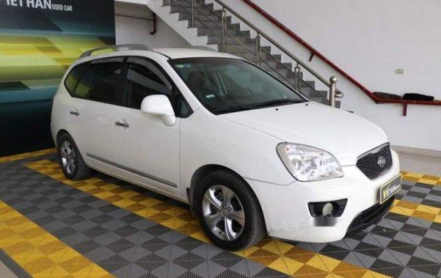 Bán ô tô Kia Carens EX 2.0MT sản xuất 2016, màu trắng1