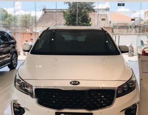 Cần bán Kia Sedona Platinum D sản xuất 2019, màu trắng1