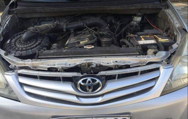 Bán Toyota Innova MT đời 2007, màu bạc, xe gia đình đang sử dụng1