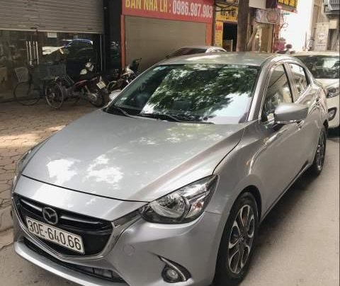 Bán xe Mazda 2 sản xuất 2015, màu xám, xe đi giữ gìn cẩn thận1