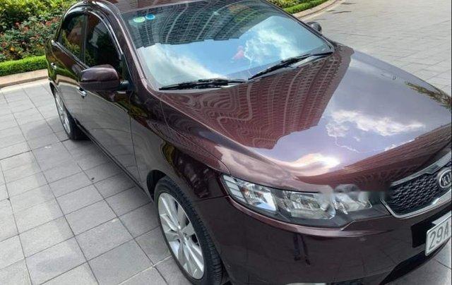 Bán Kia Cerato 1.6 AT sản xuất năm 2012, màu đỏ, nhập khẩu nguyên chiếc chính chủ0