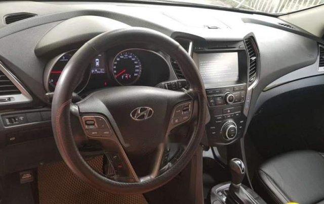 Cần bán Hyundai Santa Fe 2.2 máy dầu, màu trắng Sx 2015, xe tư nhân chính chủ5
