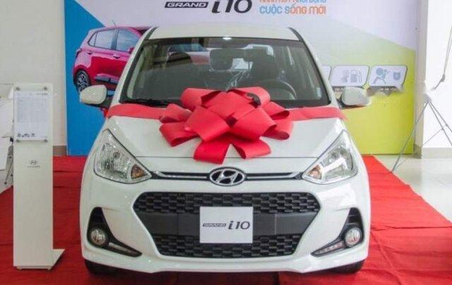 Bán ô tô Hyundai Grand i10 1.2 MT năm sản xuất 2018, màu trắng1
