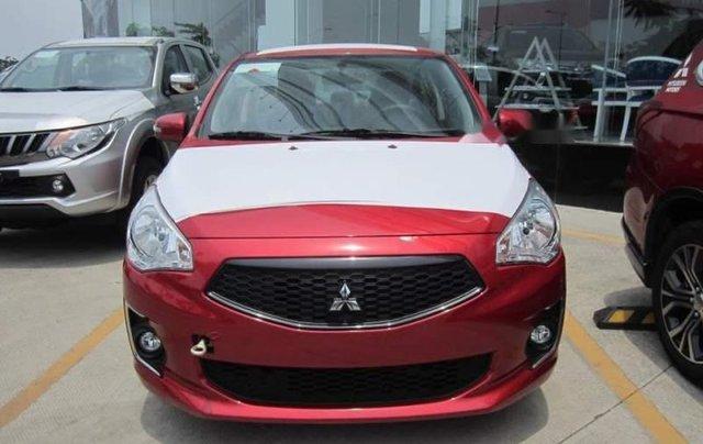 Cần bán Mitsubishi Attrage CVT Eco năm 2019, màu đỏ, nhập khẩu nguyên chiếc từ Thái Lan0