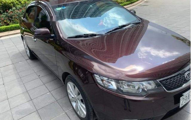 Cần bán xe Kia Cerato 1.6 AT đời 2012, màu đỏ, nhập khẩu Hàn Quốc4
