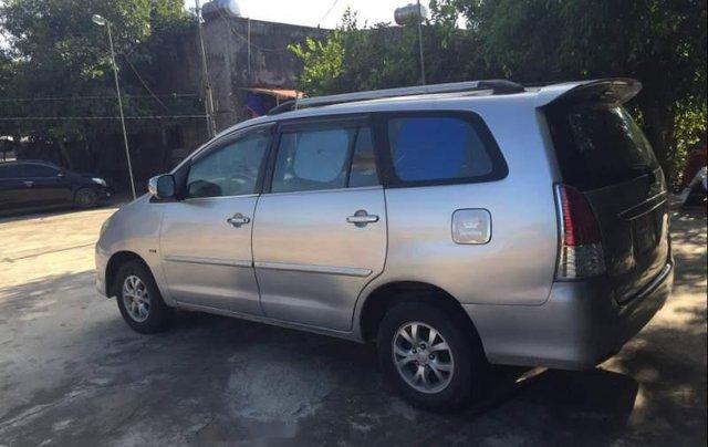 Bán Toyota Innova MT đời 2007, màu bạc, xe gia đình đang sử dụng2