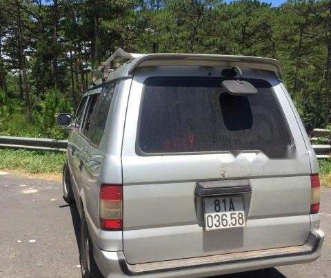 Cần bán Mitsubishi Jolie đời 2001, màu bạc, xe đẹp, máy êm2