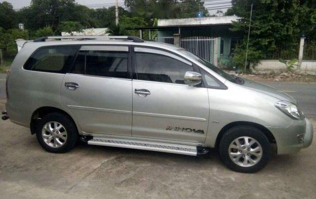 Gia đình bán gấp Toyota Innova G năm 2007, màu bạc0