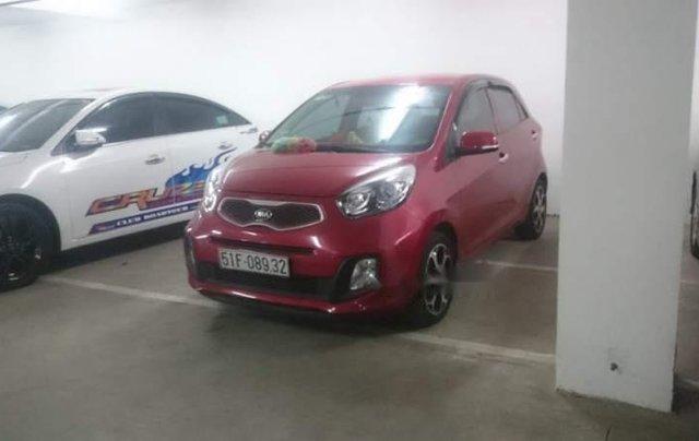 Gia đình bán gấp xe Kia Morning màu đỏ, biển SG, đời 2015, số tự động2