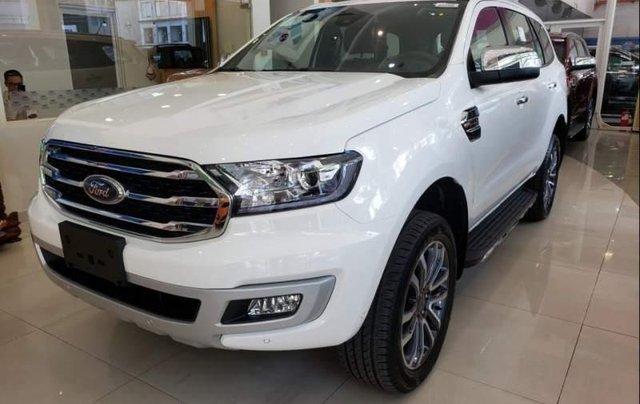 Bán xe Ford Everest Titanium 2019, nhập khẩu nguyên chiếc, có xe giao ngay0