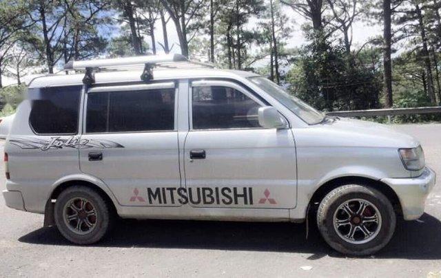 Cần bán Mitsubishi Jolie đời 2001, màu bạc, xe đẹp, máy êm1