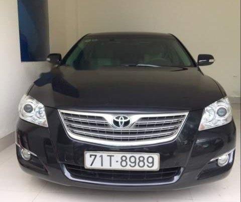 Bán xe Toyota Camry MT năm sản xuất 2007, màu đen, còn mới 95%, bảo dưỡng tốt, ít hao xăng0