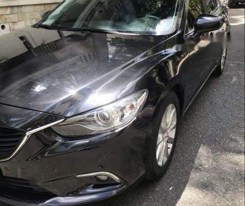 Cần bán Mazda 6 năm 2015, màu đen, đi đúng đồng hồ 35000 km2